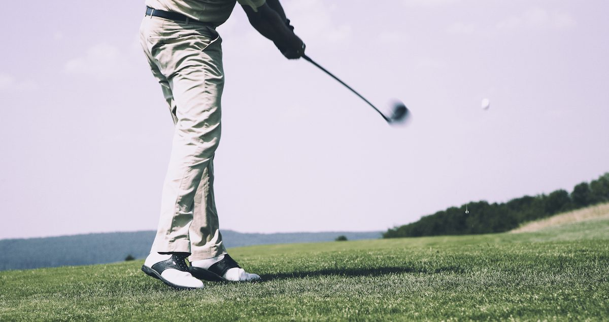 Electrostimulation and Golf