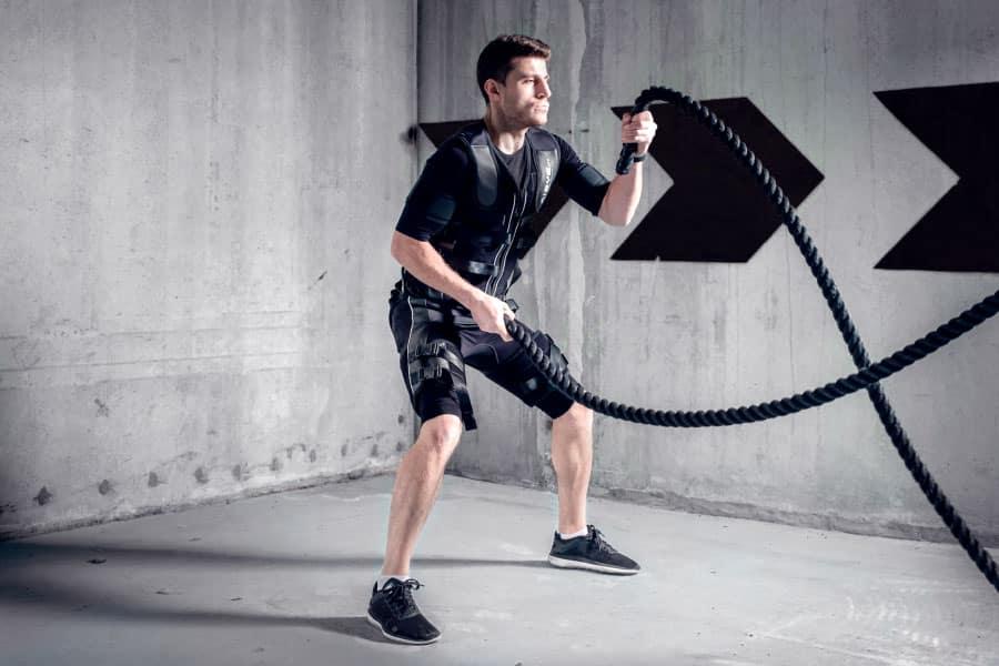 electroestimulador para ganar masa muscular