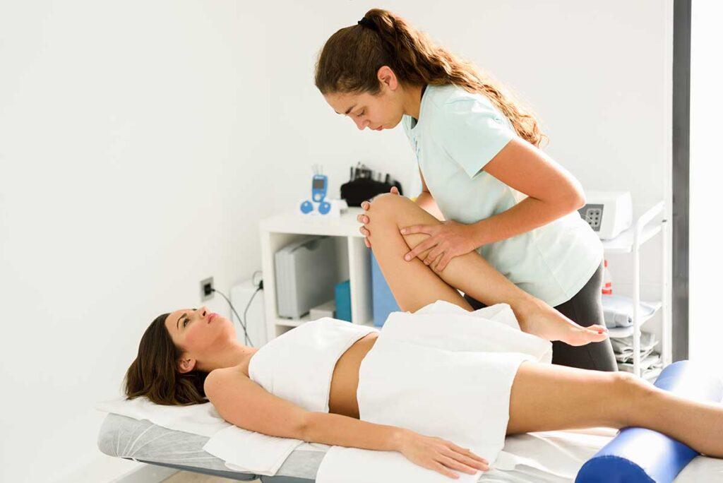 Usar electroterapia como fisioterapia con electroestimulación